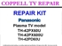Picture of REPAIR KIT FOR PANASONIC TH-42PX60U / TH-42PX600U / TH-42PD60U - TV DOES NOT POWER ON, DEAD