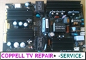 Picture of AKAI LCT32SHA POWER SUPPLY BOARD REPAIR SERVICE - NO POWER OR SHUT OFF