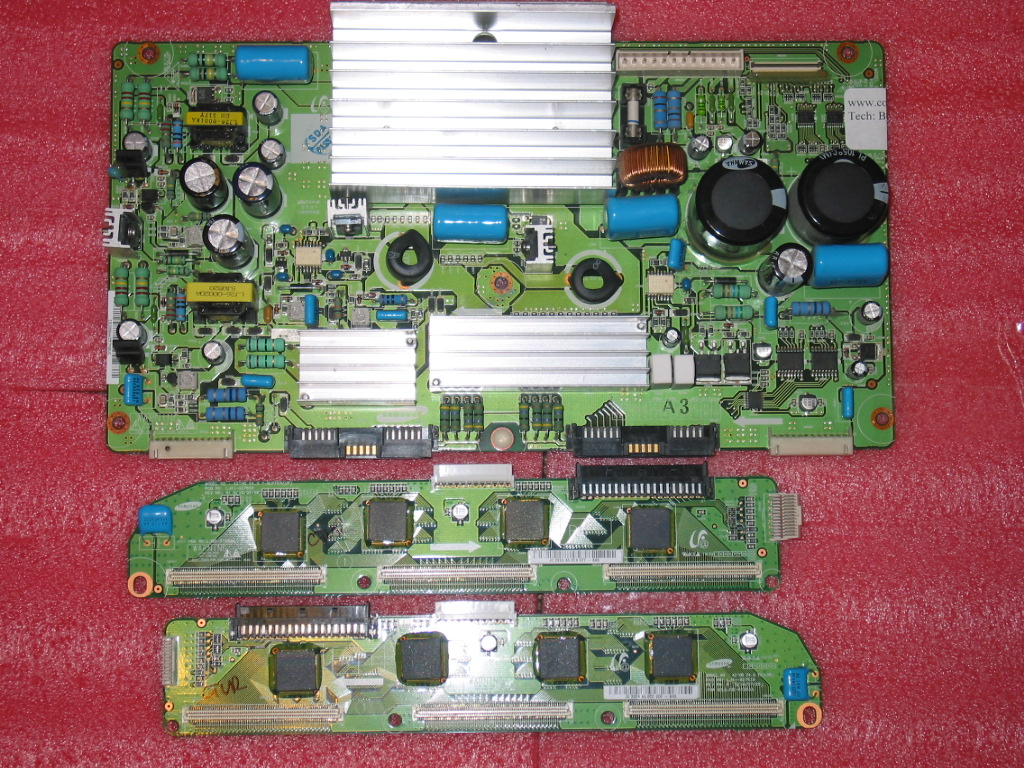 Picture of DELL W4201C / W4201CHD Y-Main and buffers replacement set