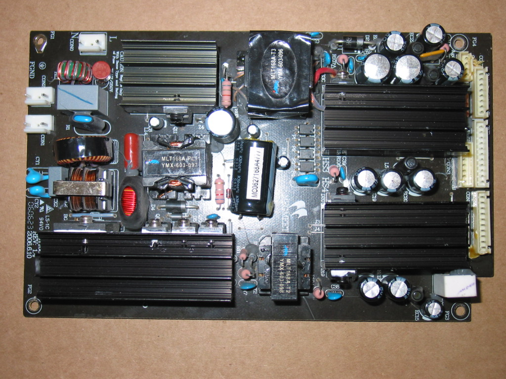 AKAI LCT26Z4AD POWER SUPPLY BOARD MLT168A REPAIR SERVICE - Coppell ...