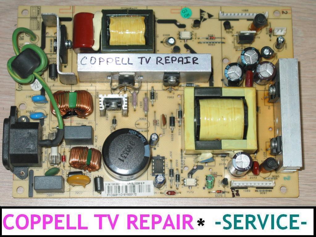 Television Repair Service : Power supply board repair