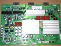 Picture of Repair service for HP PL5060N YSUS board 1032302-HS problem - no image, flashing display or no power after loud pop