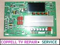 Picture of REPAIR SERVICE FOR SANYO DP50747 P50747-01 YSUS - SOUND BUT NO IMAGE OR SHUT DOWN