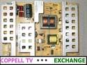 Picture of VIZIO VX42L VX42LHDTV10A power supply board - upgraded, tested, $30 back for old dud