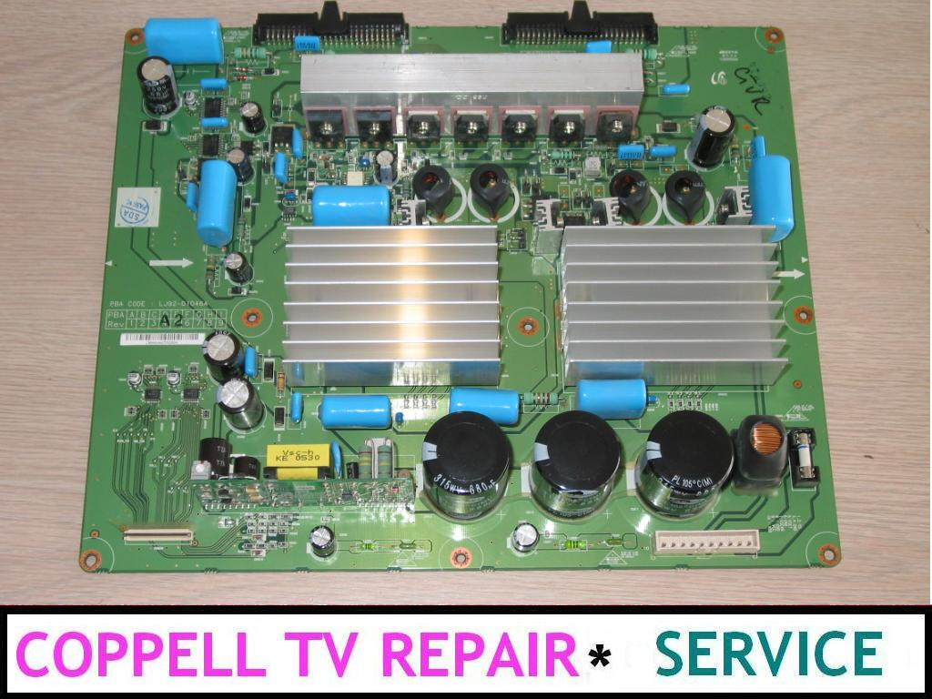 SAMSUNG HP-R5052 REPAIR SERVICE FOR SOUND BUT NO IMAGE PROLBEM (Y
