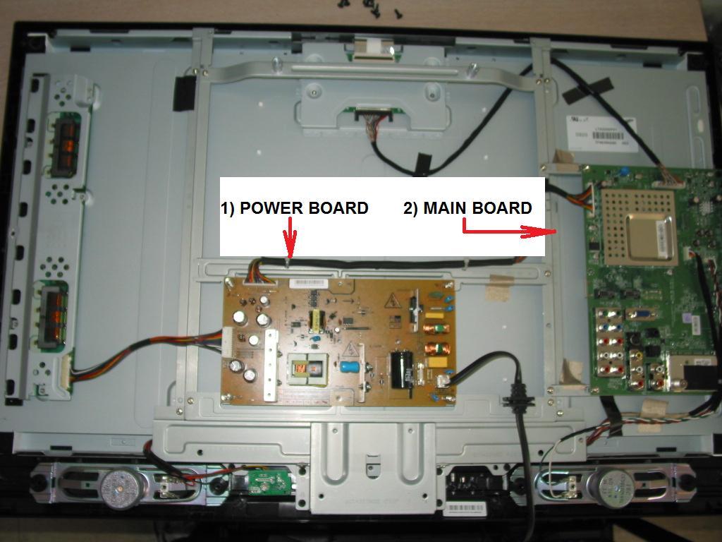 TOSHIBA 32AV502R repair service for intermittent shutdown