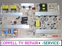 Picture of REPAIR SERVICE FOR LG 42LD450-UA POWER SUPPLY BOARD - NOT POWERING ON OR SHUTTING OFF PROBLEM