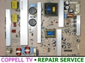 Picture of REPAIR SERVICE VIZIO JV50P HDTV10A / JV50PHDTV10A POWER SUPPLY BOARD FOR DEAD TV OR CLICKING ON AND OFF PROBLEM