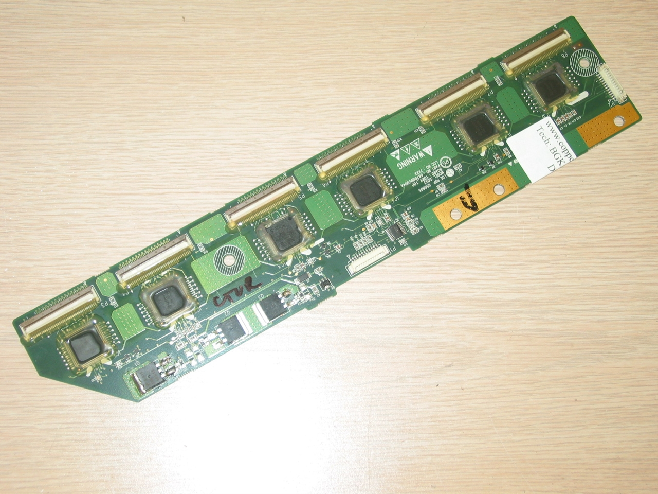 6871qdh088a 6870qdc004a 6870qdc104a Buffer Board Tested Good Old Circuit Boards Designed For New Use In A Repair Shop To Be Sold Picture Of 20 Credit