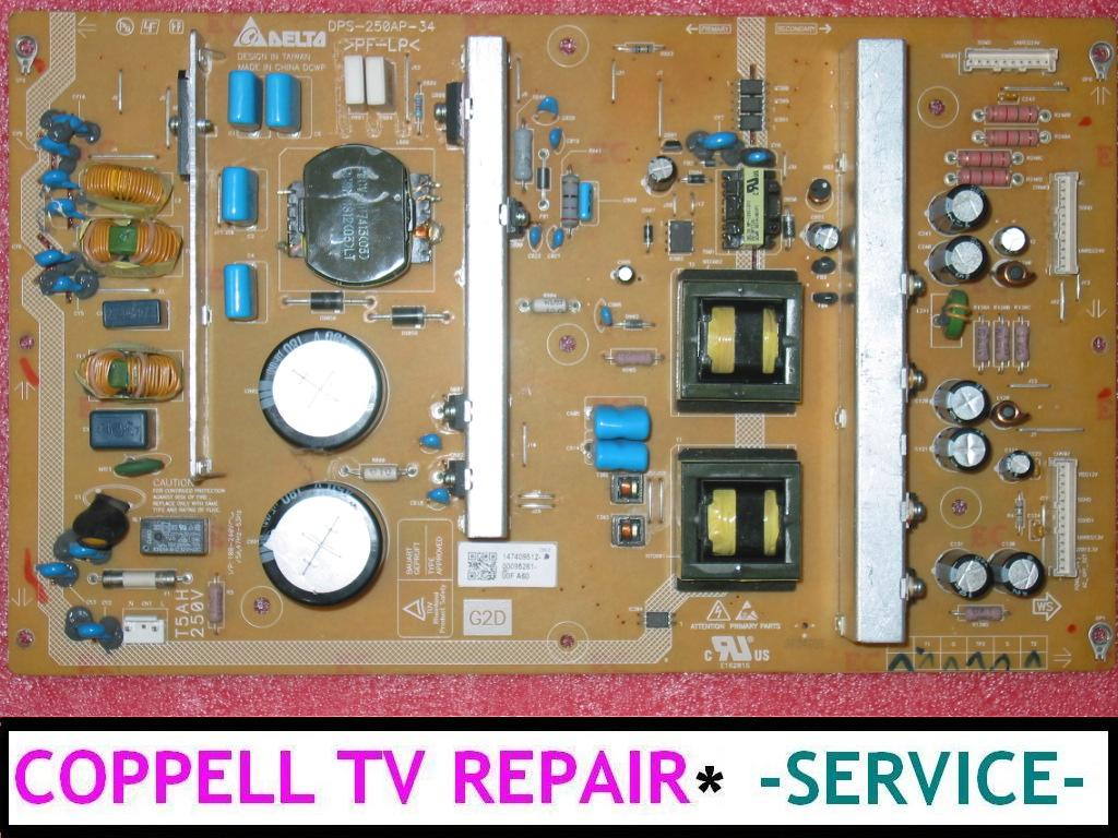 Television Repair Service : Repair service for sony kdl nl power supply board