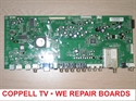 Picture of Repair service for Vizio main board 3642-0132-0150 - dead TV or white LED, but no display and response