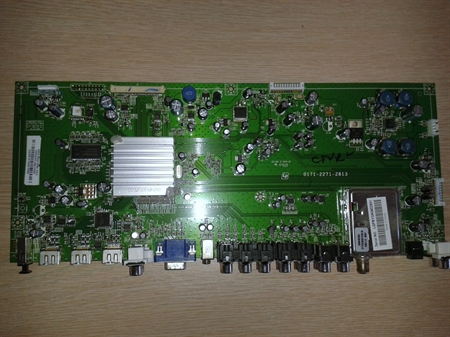 Picture of Vizio VW42LFHDTV10A  main board 3642-0552-0150 /  3642-0552-0395 - tested, good, $50 credit for your old dud