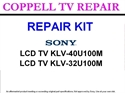 Picture of 715T1723-J MAIN BOARD REPAIR KIT FOR SONY KLV-40U100M, SONY KLV-32U100M