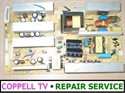 Picture of REPAIR SERVICE FOR SOYO MT-SYTPT2627AB  POWER SUPPLY - TV NOT POWERING ON OR SHUTTING OFF OR TAKING TIME TO COME UP