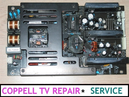 Picture of REPAIR SERVICE FOR SCOTT LCT37SHA LCD TV POWER SUPPLY - TV DEAD OR SHUTTING DOWN IMMEDIATELLY