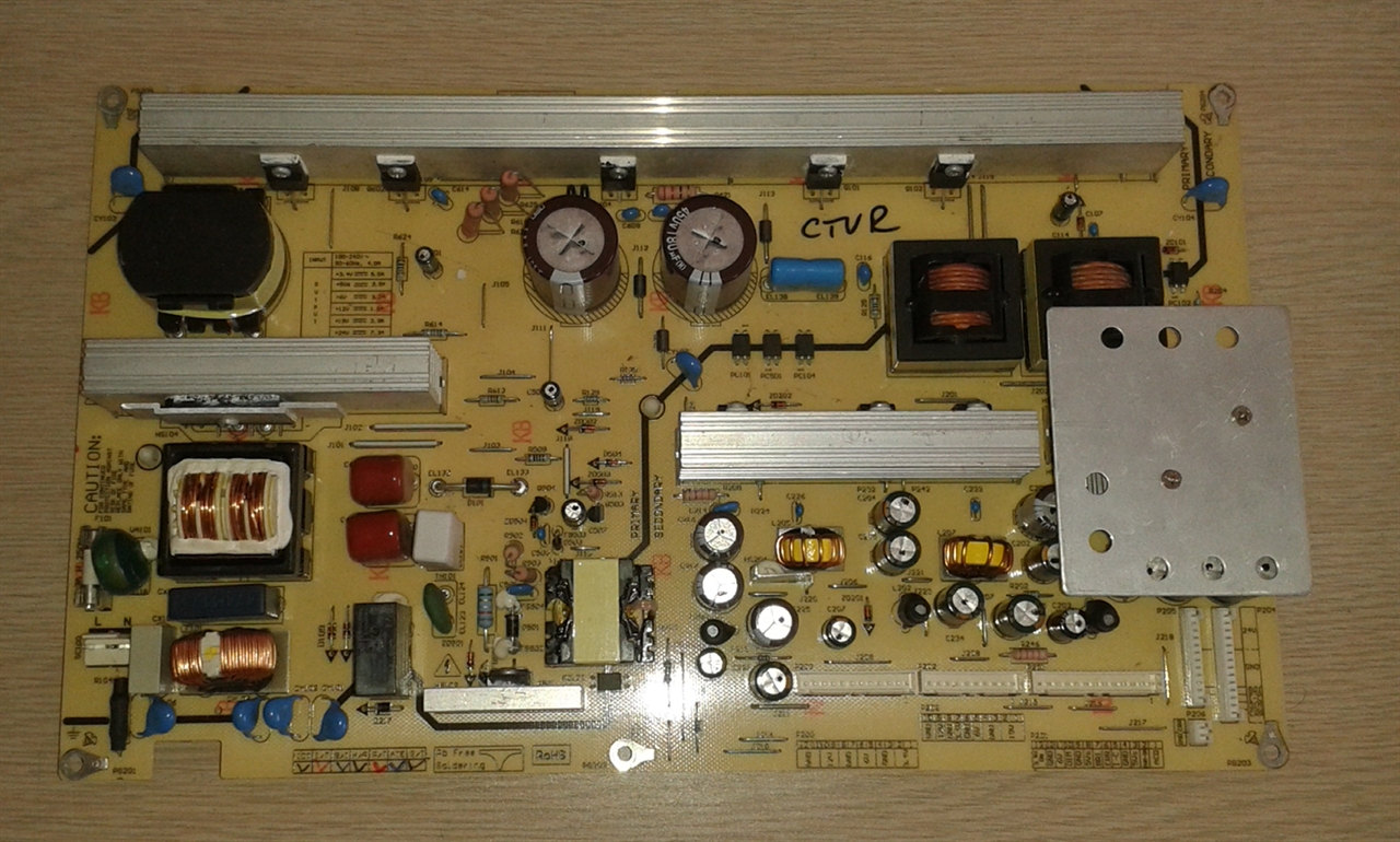 Picture of REPAIR SERVICE FOR LG 42LB1DR-UA LCD TV POWER SUPPLY - TV DEAD