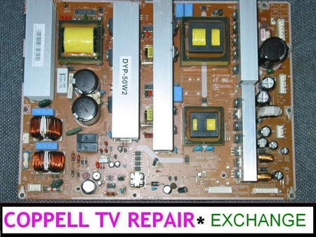 Picture of BN44-00160A DYP-50W2 SAMSUNG power supply board exchange service, $50 credit for old dud