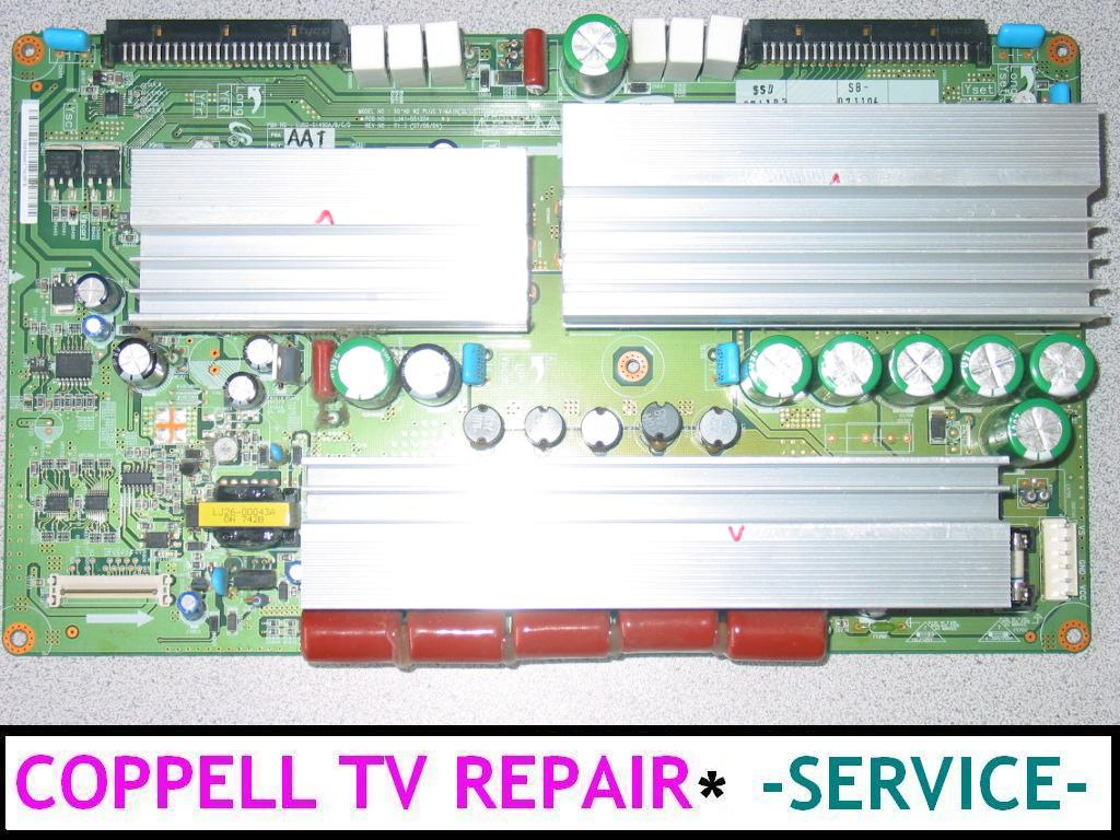 SAMSUNG HPT5064X/XAA repair service for sound, but no image problem