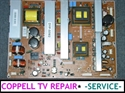 Picture of REPAIR SERVICE FOR SAMSUNG HPT5064X/XAA HP-T5064 TV BEING DEAD OR NOT POWERING ON