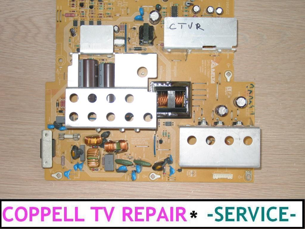 Sharp Aquos LC-32D43U power supply repair service for dead, not ...