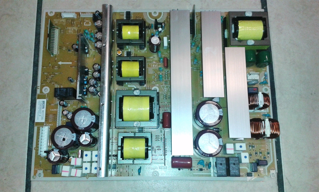 Hitachi P50v701 Power Supply Board Tested Good 70 Credit For Well Atx Schematic Diagram In Addition Picture Of Old