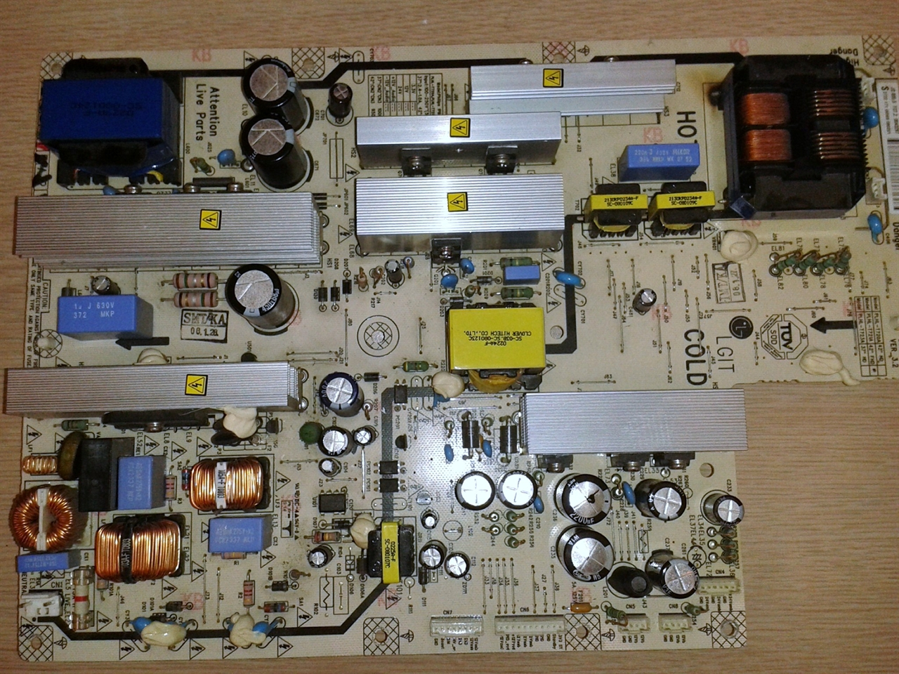 Picture of Repair service for Philips PLHL-T723A power supply / inverter  board for Philips