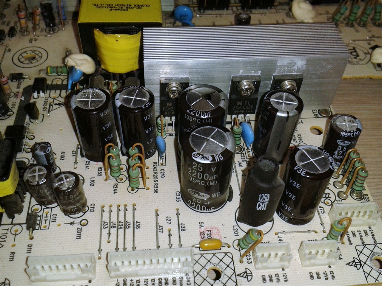 PHILIPS 42PFL5603D/27 power supply repair service for burned board