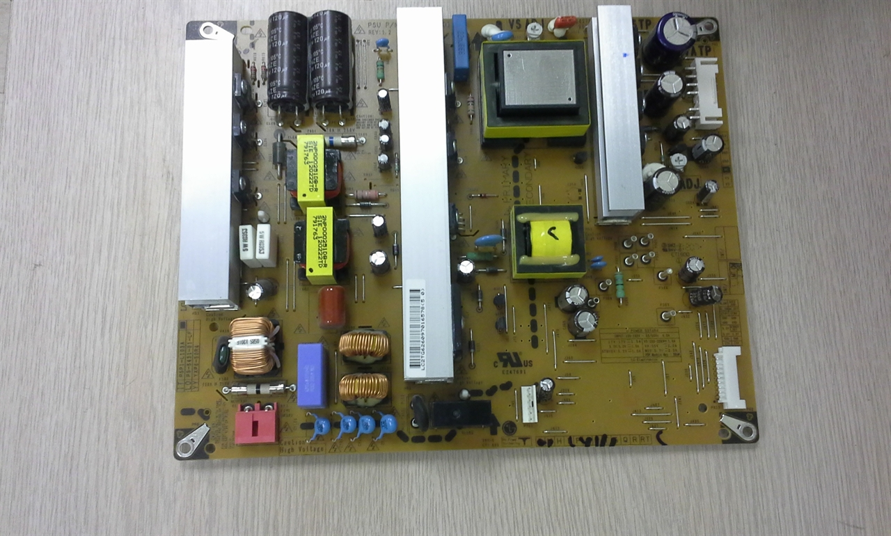 Picture of Repair service for LG EAY62609701 power supply causing dead or  failing to start TV