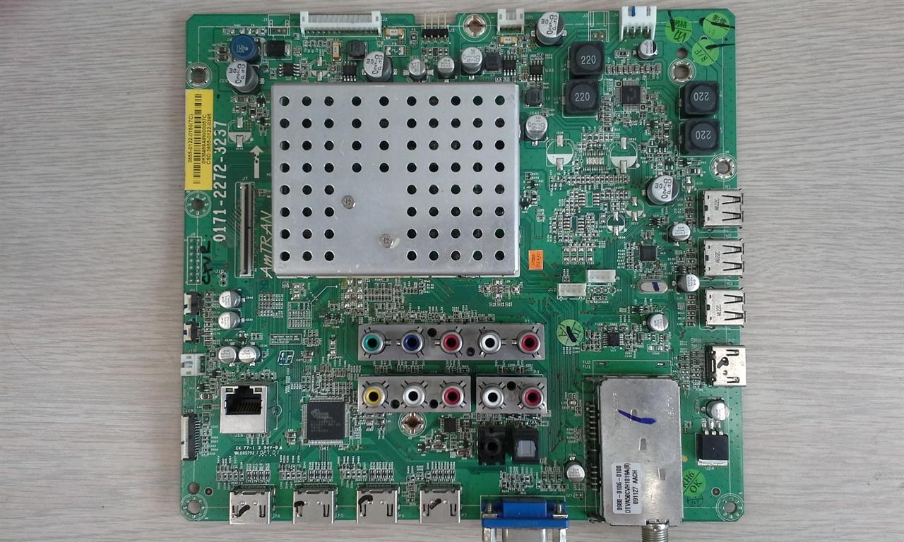 vizio tv main board replacement. picture of vizio xvt553sv main board 3655-0122-0150 / 3655-0122- tv replacement