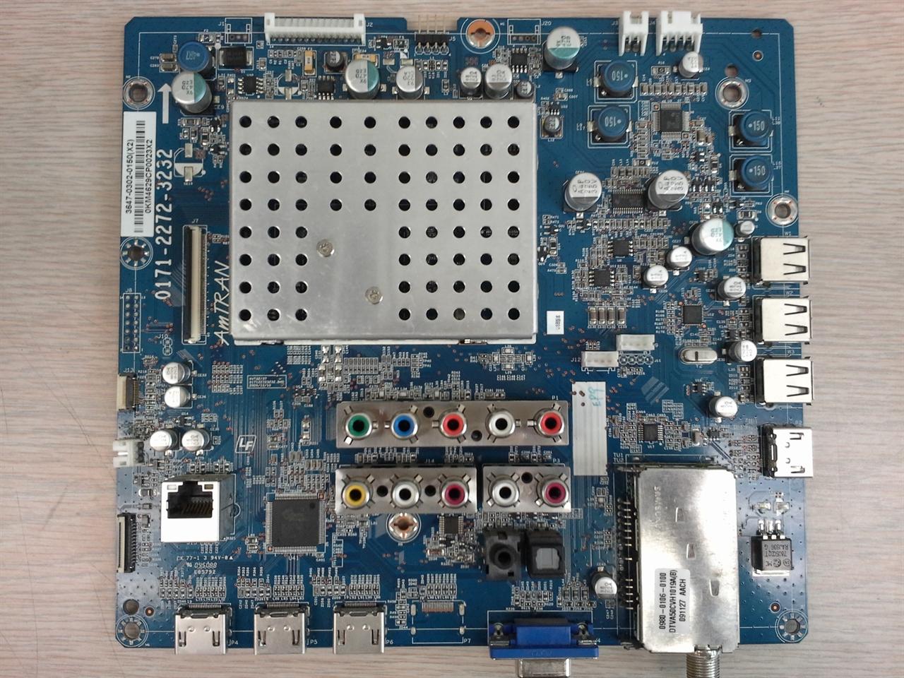 Picture of 0171-2272-3237 Vizio main board repair service for dead, blinking