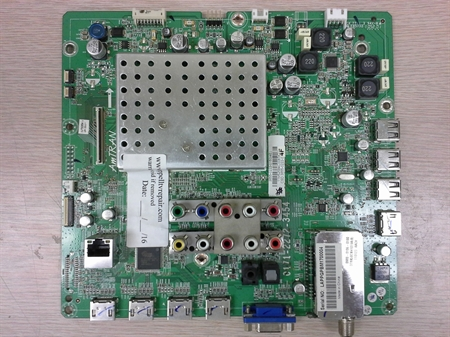 Picture of Repair service for Vizio XVT3D424SV main board 3642-1132-0150 / 3642-1132-0395 - dead , blinking endlessly, lacking HDMI or sound or otherwise failing to start TV