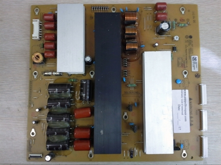 Picture of Repair service for  LG 60PV490-UC plasma TV ZSUS board causing sound, but no image, failing to start or shutting down TV