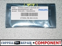 Picture of Repair kit for BA4GP0F0102 1 / A4GP2021 power Philips 40PFL4609/F7, 40PFL4609/F7  causing dead TV problem