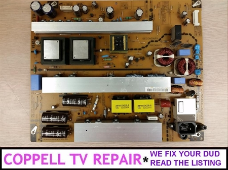 Picture of Repair service for LG 60PN5000-UA power supply board causing dead TV or other problems