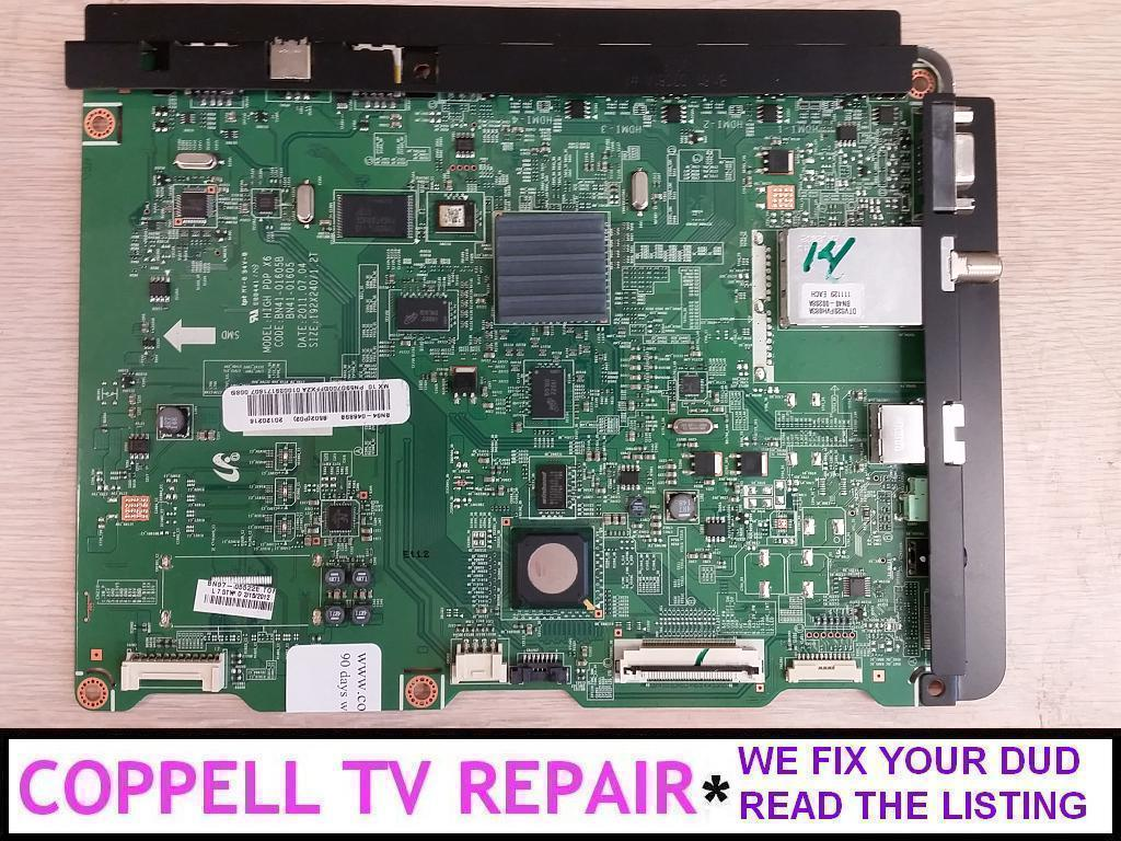 Repair service for Samsung PN59D7000FFXZA / PN59D7000 main board