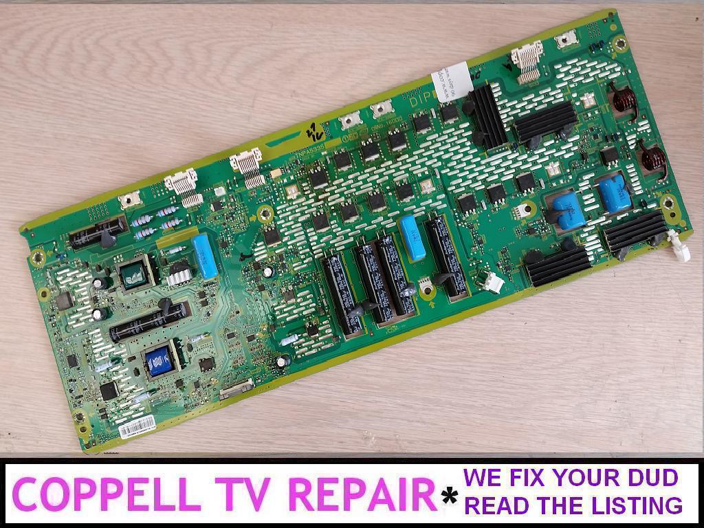 Repair service for Panasonic TC-P55VT30 plasma TV failed SC board