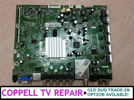 Picture of Vizio M550SV main board 3655-0342-0150 / 3655-0342-0395 - serviced, tested, $60 credit for old dud