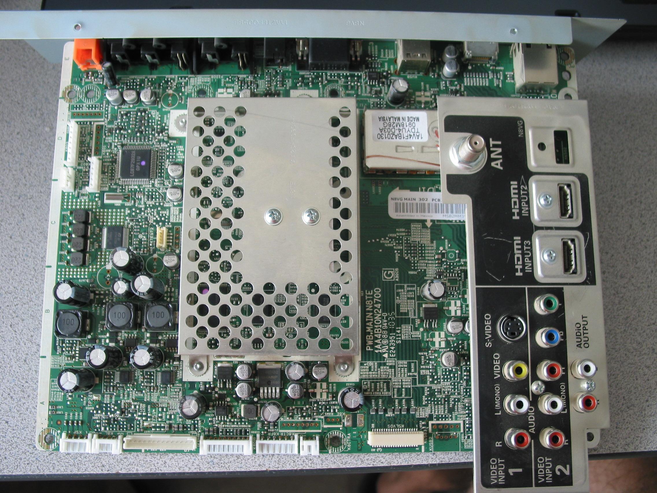 Coppell TV Repair online blog: Sanyo DP47460, DP42840, DP46819 and ...
